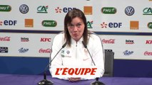 Diacre «On surfe sur cette vague de l'OL» - Foot - CM 2019 (F) - Bleues