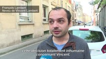 Un ancien camarade de Vincent Lambert défend la fin de vie