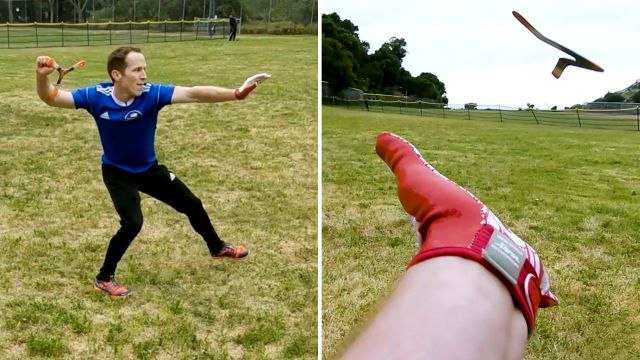 How This Guy Became a World Champion Boomerang Thrower