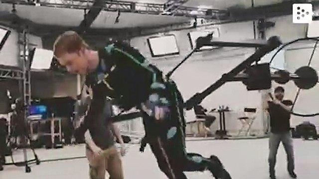 Star Wars Jedi Fallen Order actor shows motion capture sesion