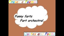 Funny farts: Fart orchestra! [Quotes and Poems]
