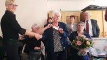 """Georgette Demange, 100 ans à Gérardmer : """"Je vous souhaite de devenir centenaires"""""""