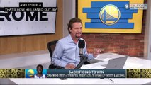 The Jim Rome Show: Draymond Green loses 25 pounds after cutting sugar and alcohol