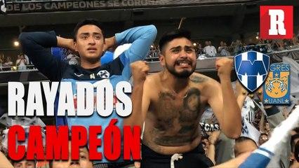 Color Rayados vs Tigres (2-1 Global) | Rayados Campeón de Concacaf