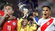 Relembre os artilheiros das últimas edições da Copa América