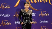 "Christina Milian ""Aladdin"" World Premiere Purple Carpet"