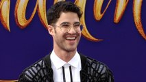 "Darren Criss ""Aladdin"" World Premiere Purple Carpet"