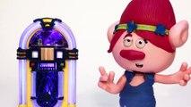 TROLLS Stop Motion Kids | Princess Poppy Stop Dancing | Trolls fll mvie Stop Motion  Crafty Kids