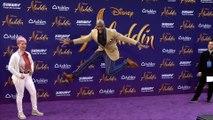 "Terry Crews ""Aladdin"" World Premiere Purple Carpet"