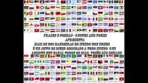 Lindas bandeiras dos Países, mais de 230 tipos de todo o mundo, incluindo ilhas e com nome! [Frases e Poemas]