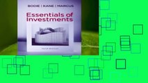 Review  Essentials of Investments - Zvi Bodie