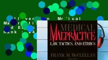 Full version  Medical Malpractice: Law, Tactics and Ethics  Best Sellers Rank : #4