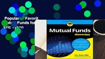 Popular to Favorit  Mutual Funds for Dummies by Eric Tyson