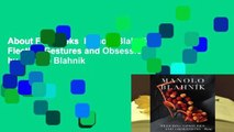 About For Books  Manolo Blahnik: Fleeting Gestures and Obsessions by Manolo Blahnik
