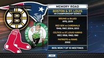 St. Louis And Boston Have Lengthy History In Sports