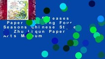Trial New Releases  Paper Quilling Four Seasons Chinese Style by Zhu Liqun Paper Arts Museum
