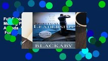 Full E-book Spiritual Leadership: Moving People on to God's Agenda, Revised and Expanded  For Full
