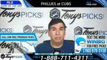 Philadelphia Phillies vs Chicago Cubs 5/23/2019 Picks Predictions