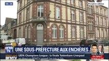 L'ancienne sous-préfecture de l'Eure est vendue aux enchères à Bernay
