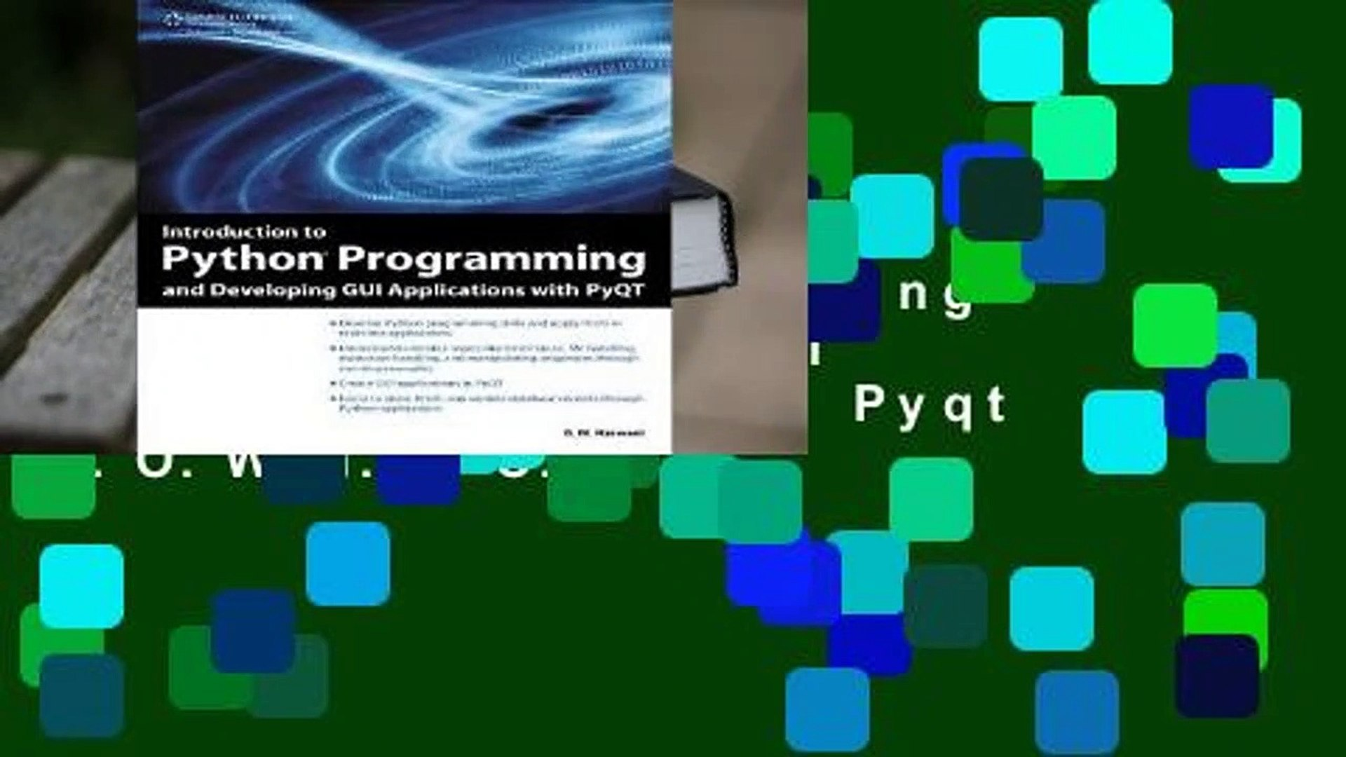 Try These Python Gui Tutorial Pyqt Pdf {Mahindra Racing}