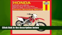 R.E.A.D Honda CRF250 and CRF450 Motocross & Off-road Bikes: 2002 thru 2006 R-models, X-models