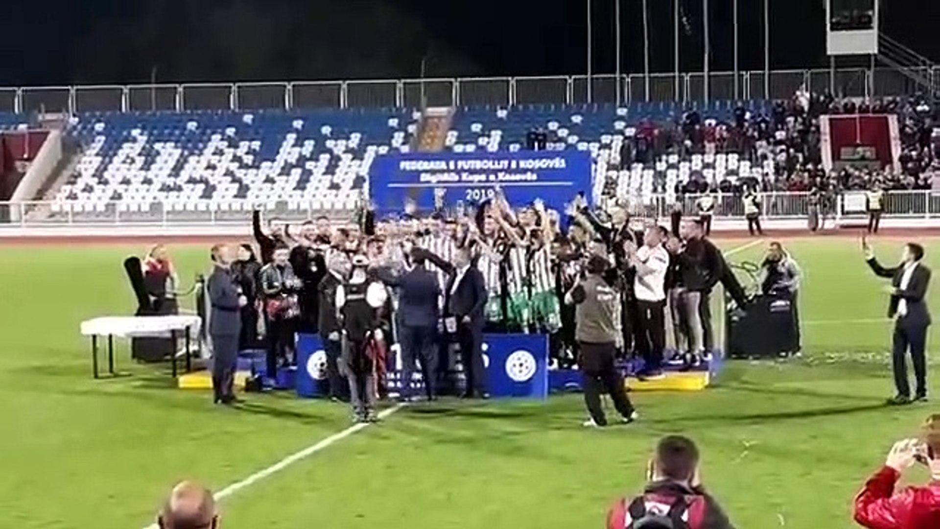 Feronikeli fitues i Kupes se Kosoves ne futboll