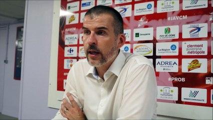 Interview - En conférence de presse : J.A.VCM / Rouen (1/2)