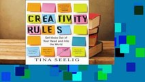 Full version  Creativity Rules: Get Ideas Out of Your Head and into the World Complete
