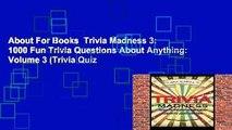 Fun Book Review: Trivia Treasure Volume 3: The General