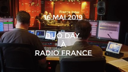 Duo Day 2019 à Radio France