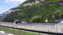 Canfranc : gare internationale d'altitude