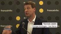 """Elections européennes : """"C'est le vote du siècle"""", affirme Yannick Jadot, tête de liste EELV"""