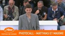 MATTHIAS ET MAXIME - Photocall - Cannes 2019 - VF