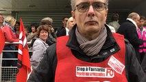 Grève départementale des fonctionnaires des Finances publiques