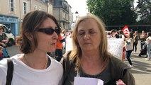 Laval. Les auxiliaires de puériculture manifestent devant la préfecture
