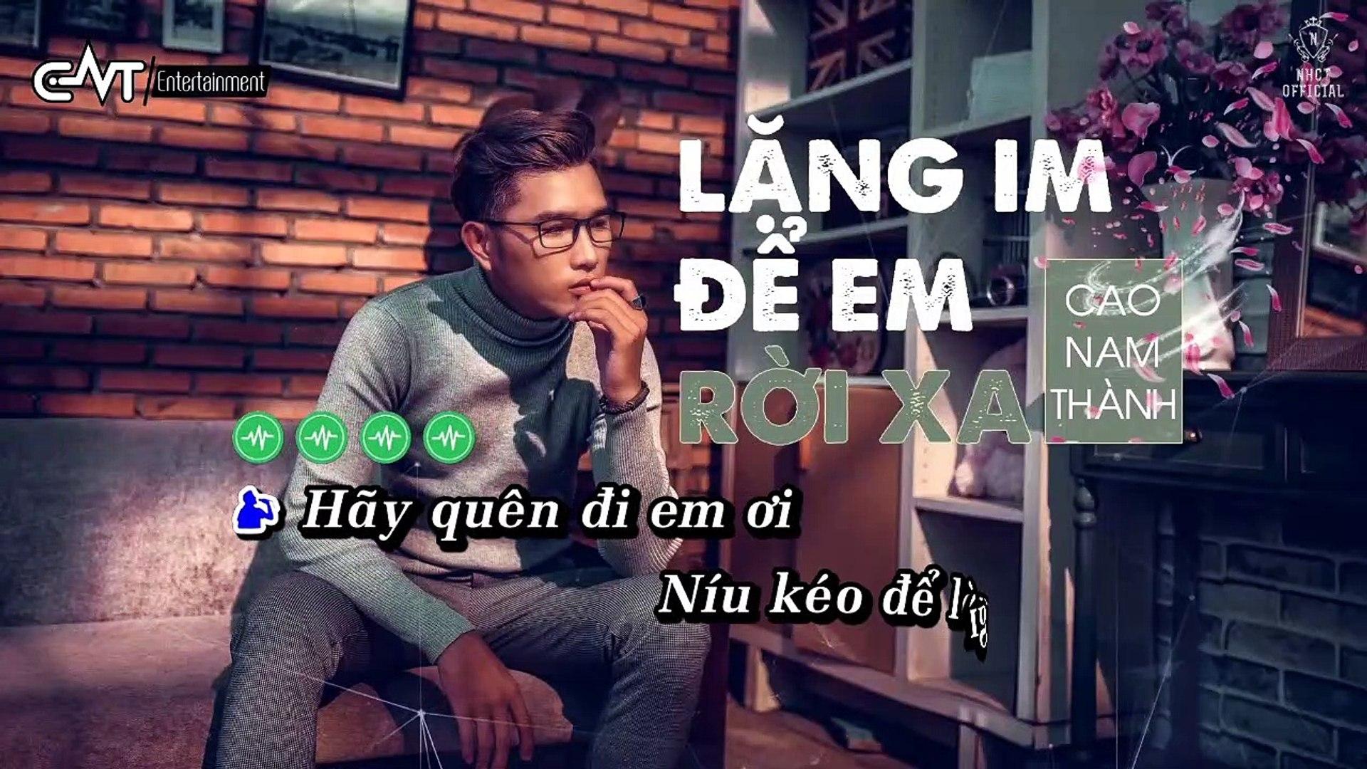 [Karaoke] Lặng Im Để Em Rời Xa - Cao Nam Thành [Beat]