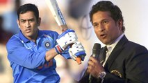 ICC Cricket World Cup 2019 : MS Dhoni Should Be India's No. 5, Says Sachin Tendulkar || Oneindia