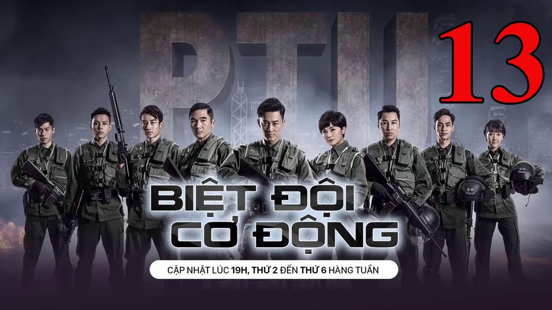 Phim Hành Động TVB: Biệt Đội Cơ Động Tập 13 Vietsub | 机动部队 Police Tactical Unit Ep.13 HD 2019
