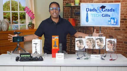 Dads and Grads Tech Gifts with Mario Armstrong