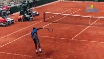 Roland-Garros 2019 - Gaël Monfils a découvert le Chatrier de Roland-Garros où il veut y faire de grandes choses !