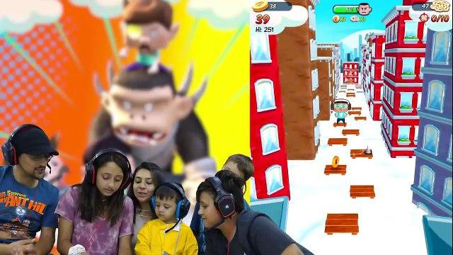 FGTEEV  Detective Pikachu saves FGTEEV Ape Chase Gameplay - Skit