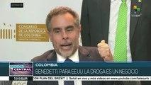 Colombia: alianza interparlamentaria para nueva política antidrogas