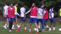 Gonzalo Higuaín très agacé à l'entraînement de Chelsea