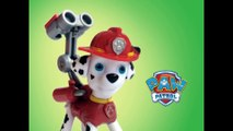 Paw Patrol Marshall Action Pack Pup and Badge by Nickelodeon - Unboxing Demo Review