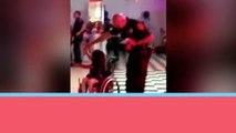 Entretenimiento    Este policía sacó a bailar a una niña de 6 años en silla de ruedas