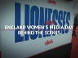 Behind the scenes - Lionesses' media day