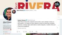 Rivera: Qué pena que no pusiera usted negro sobre blanco su disgusto y su crítica cuando homenajearon a Jose Ternera  en el lugar donde hoy hemos homenajeado a las víctimas del terrorismo.
