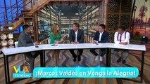 Marcos Valdés nos acompañó en el foro de Venga La Alegría. | Venga La Alegría