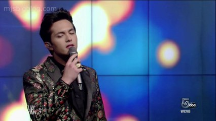 Laine Hardy Performs Flame