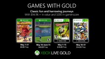 Xbox Games with Gold (May 2019)
